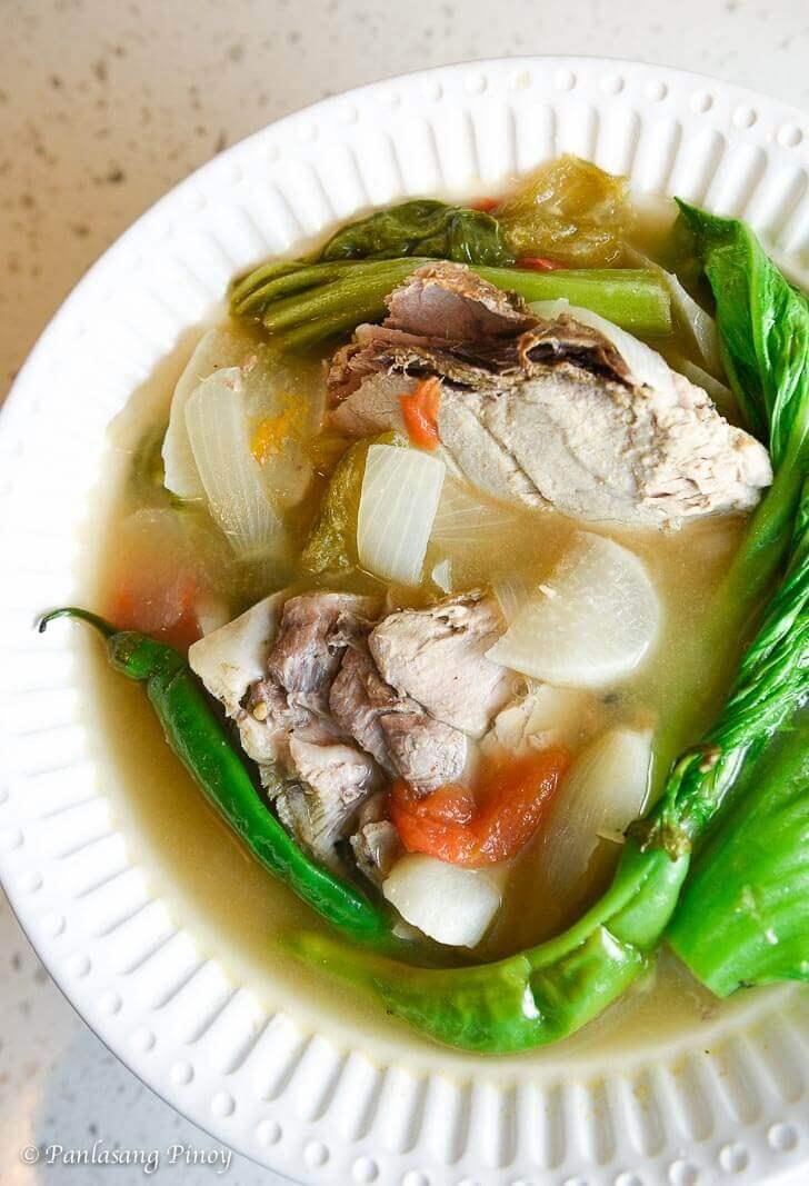 Tuna Jaw Sinigang Recipe