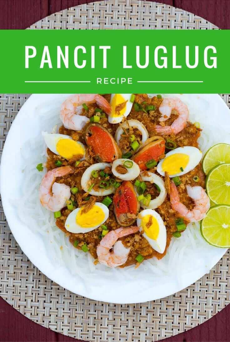 Pancit Luglug (Palabok) Panlasang Pinoy