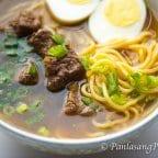 Beef Pares Mami Noodles Recipe