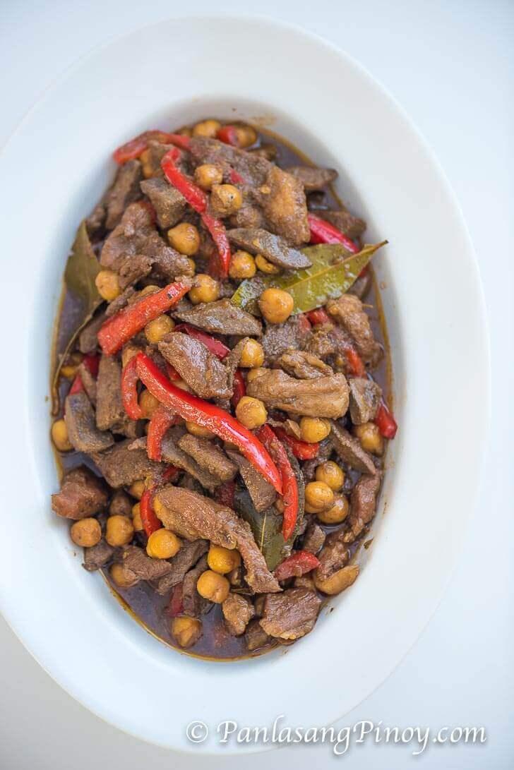Dinaldalem Recipe (Igado - Liver and Pork Adobo)