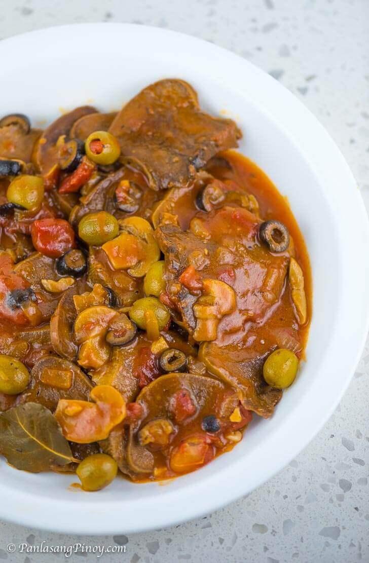 How to Cook Lengua Estofado (Ox Tongue Stew)