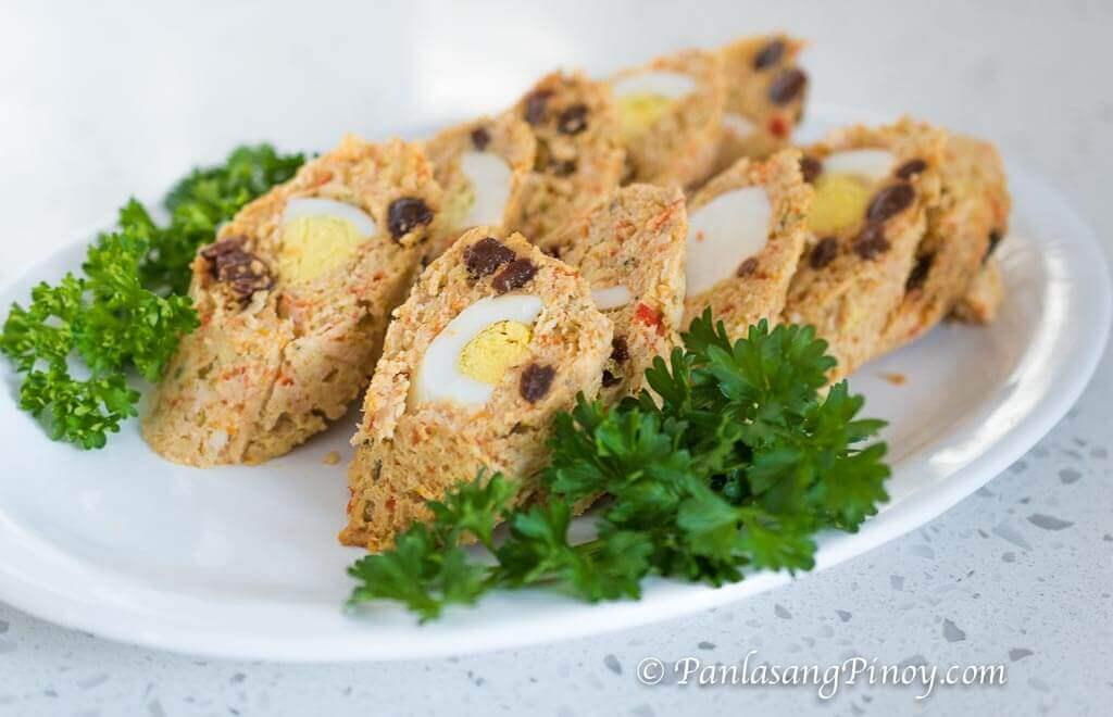 Special Chicken Embutido Recipe Panlasang Pinoy