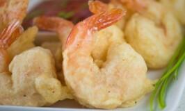 Spicy Camaron Rebosado (Deep Fried Beer Battered Shrimp)