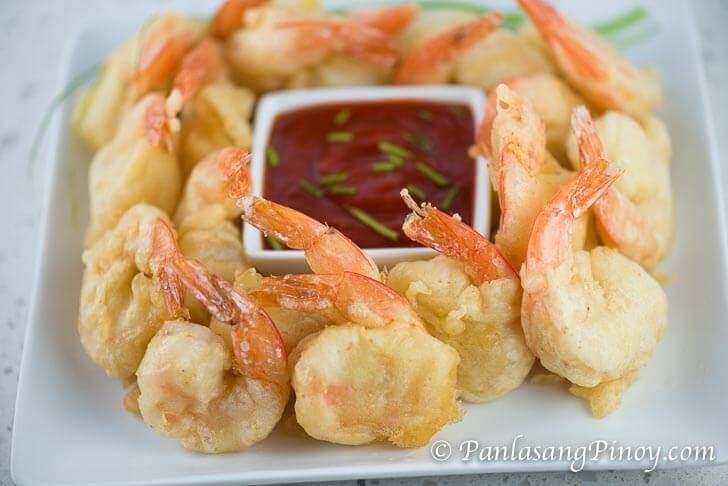 Spicy Camaron Rebosado - Deep Fried Beer Battered Shrimp