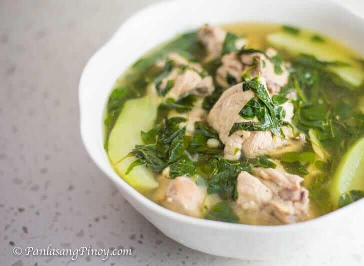 Classic Tinolang Manok Recipe Panlasang Pinoy