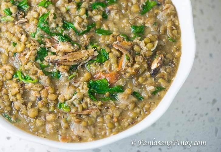 Ginisang Monggo with Dilis Recipe