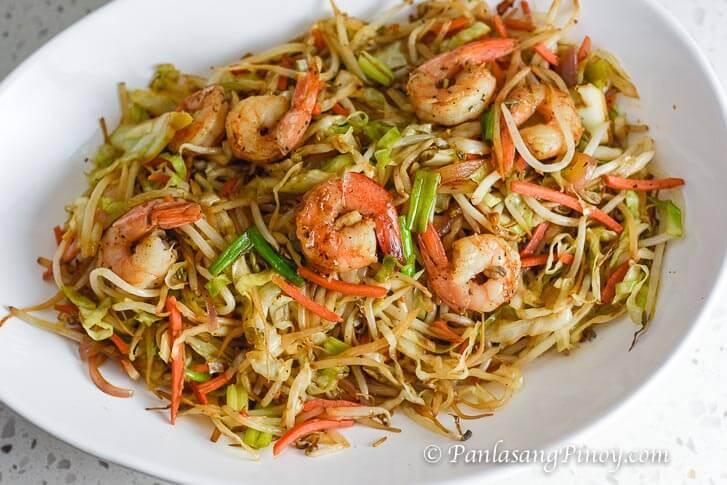 Mung Bean Sprouts with Shrimp Recipe Panlasang Pinoy