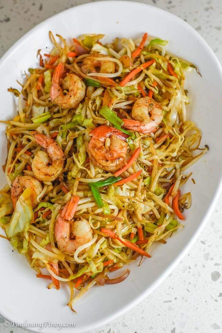 Mung Bean Sprouts With Shrimp Panlasang Pinoy