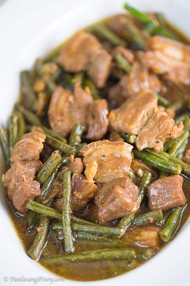How to Cook Pork Adobo with Sitaw Panlasang Pinoy