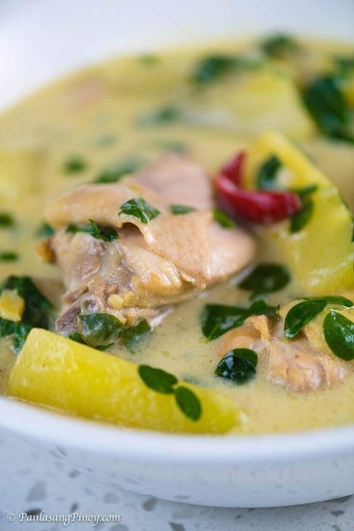 How to Cook Tinolang Manok sa Gata