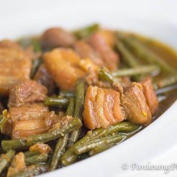 Pork Adobo with Sitaw Recipe