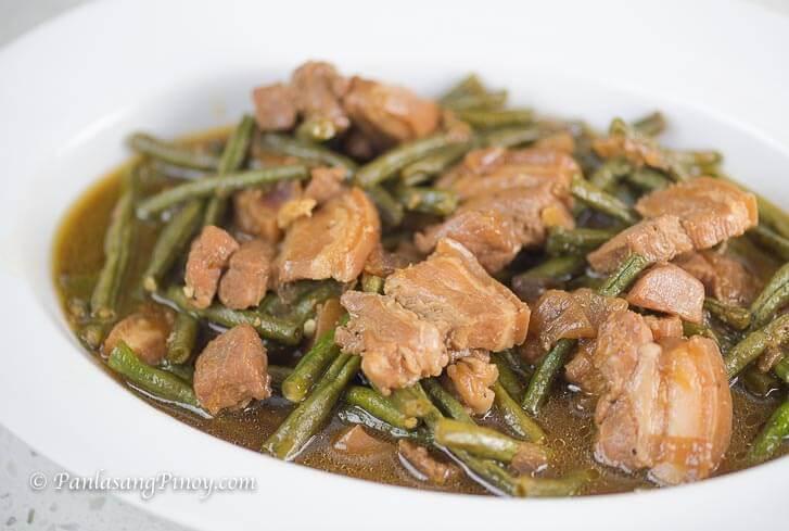 Pork Adobo with Sitaw Recipe Panlasang Pinoy