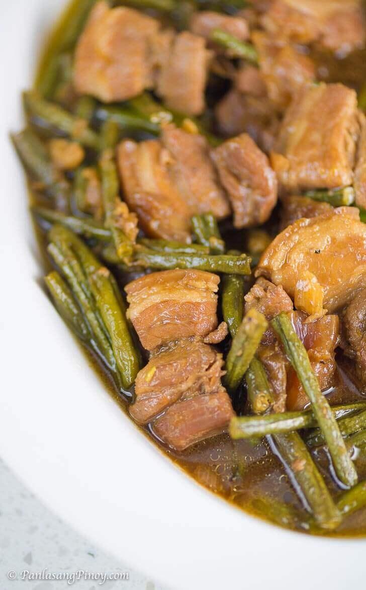 Pork Adobo with Sitaw