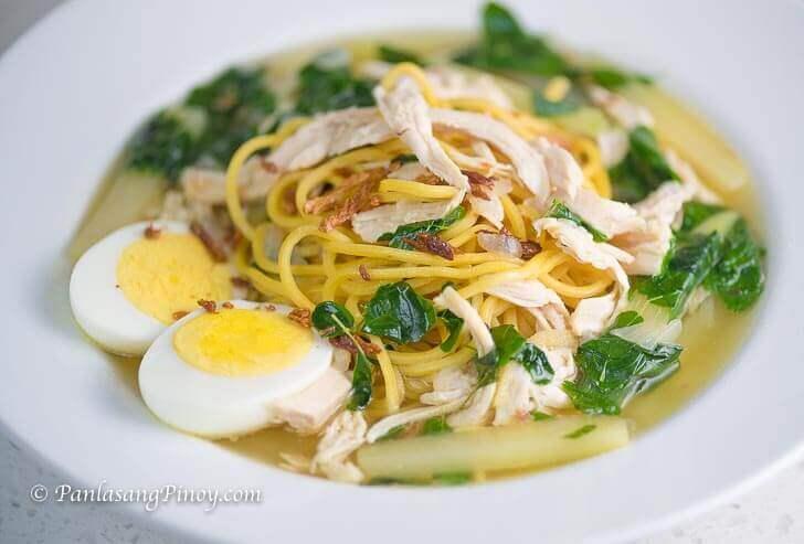 Tinola Chicken Mami Recipe