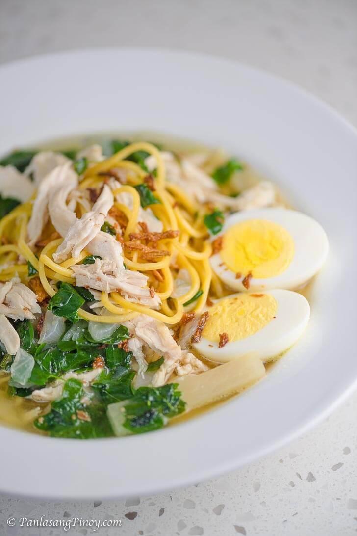 Tinola Chicken Mami Recipe Panlasang Pinoy