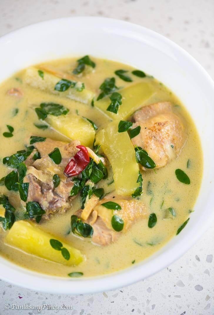 Tinolang Manok sa Gata Recipe Panlasang Pinoy