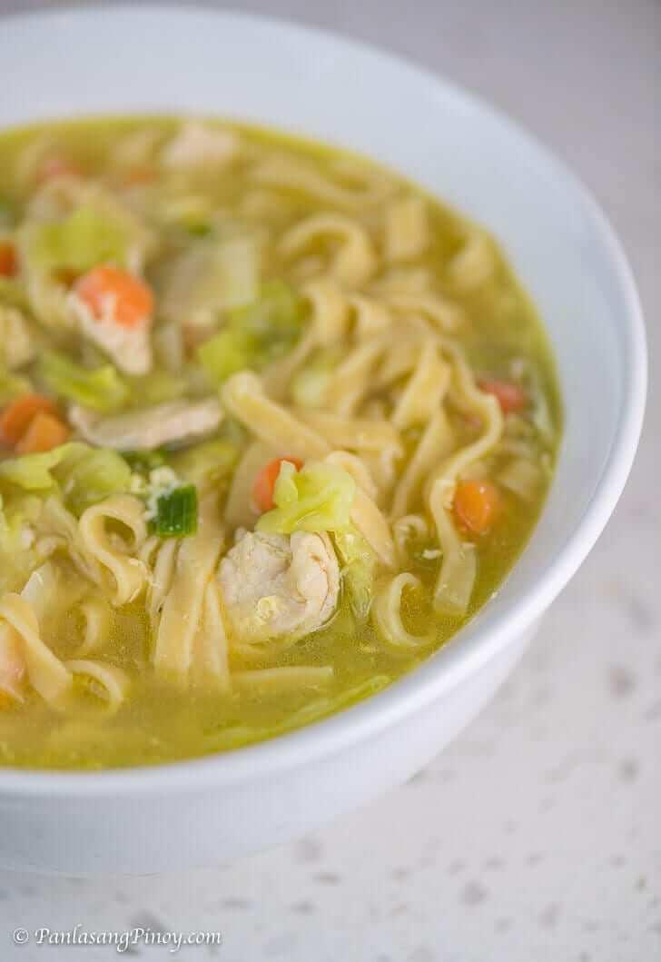 Chicken Lomi Recipe