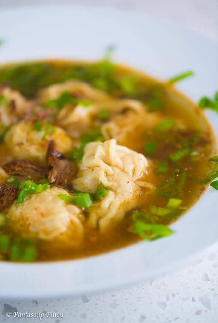 Chicken Molo Soup Panlasang Pinoy