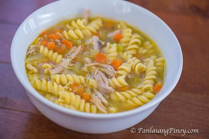 Chicken Corn Soup Recipe Panlasang Pinoy