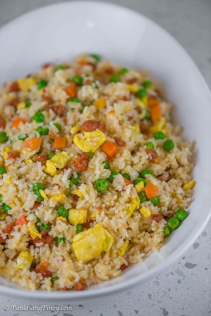 Special Longanisa Fried Rice Recipe Panlasang Pinoy