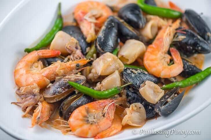Seafood Bicol Express