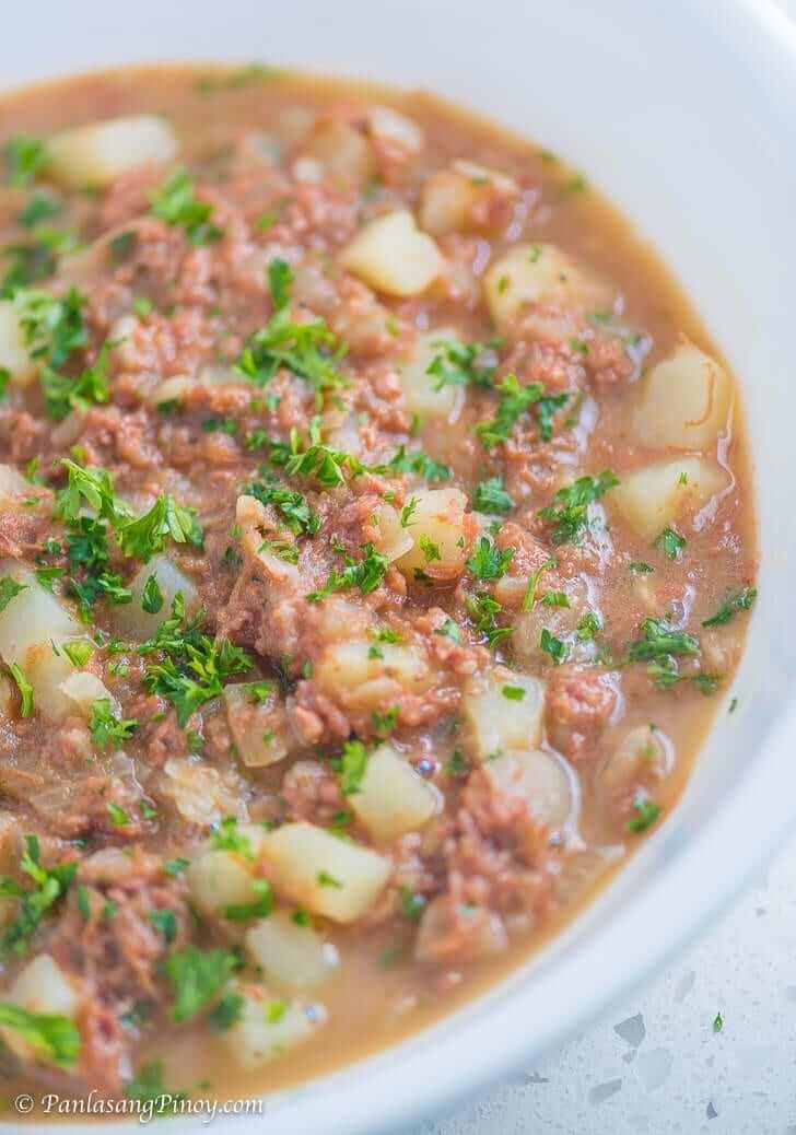 Sinabawang Corned Beef Recipe