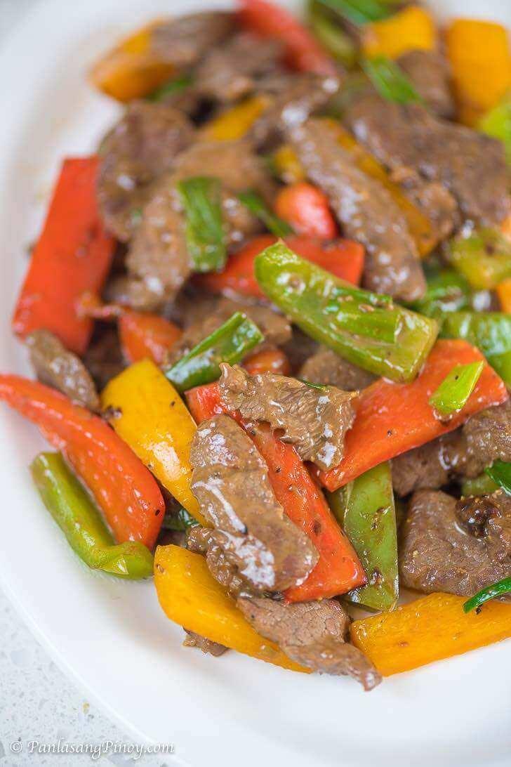 Stir Fried Pepper Steak Recipe