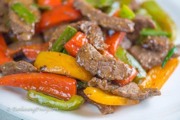 Stir Fried Pepper Steak