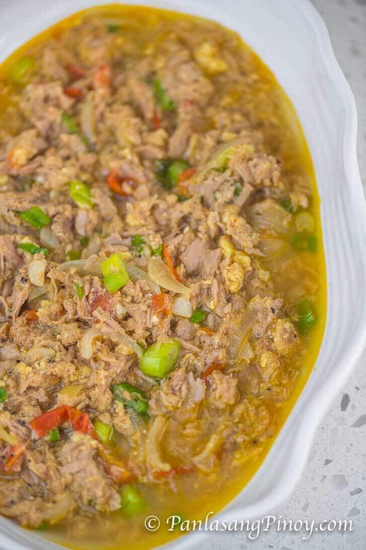 Tuna in Can Sarciado Recipe Panlasang Pinoy