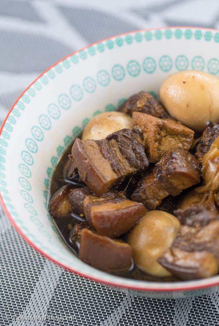 Braised Pork Belly in Soy Sauce Recipe - Tau Yew Bak