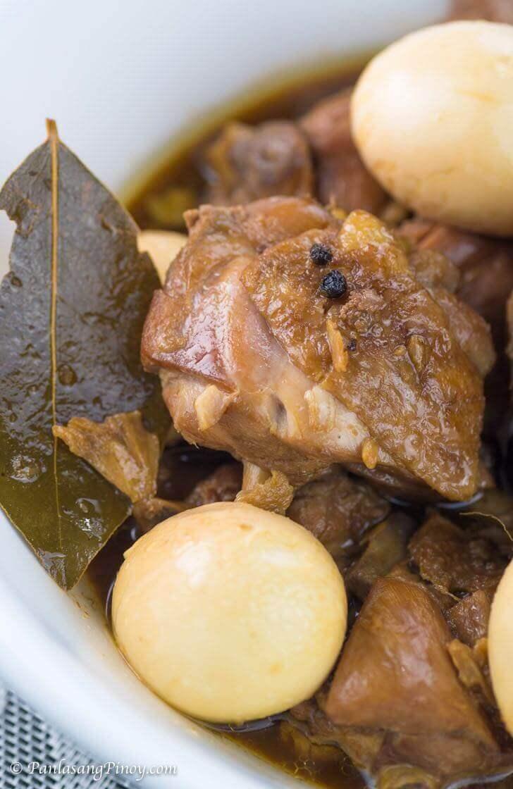 Chicken Adobo with Egg Recipe Panlasang Pinoy