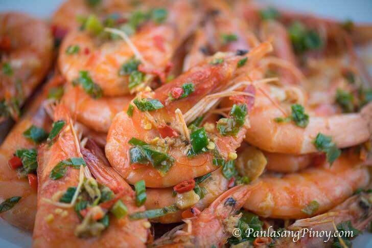 Chili Garlic Butter Shrimp Recipe