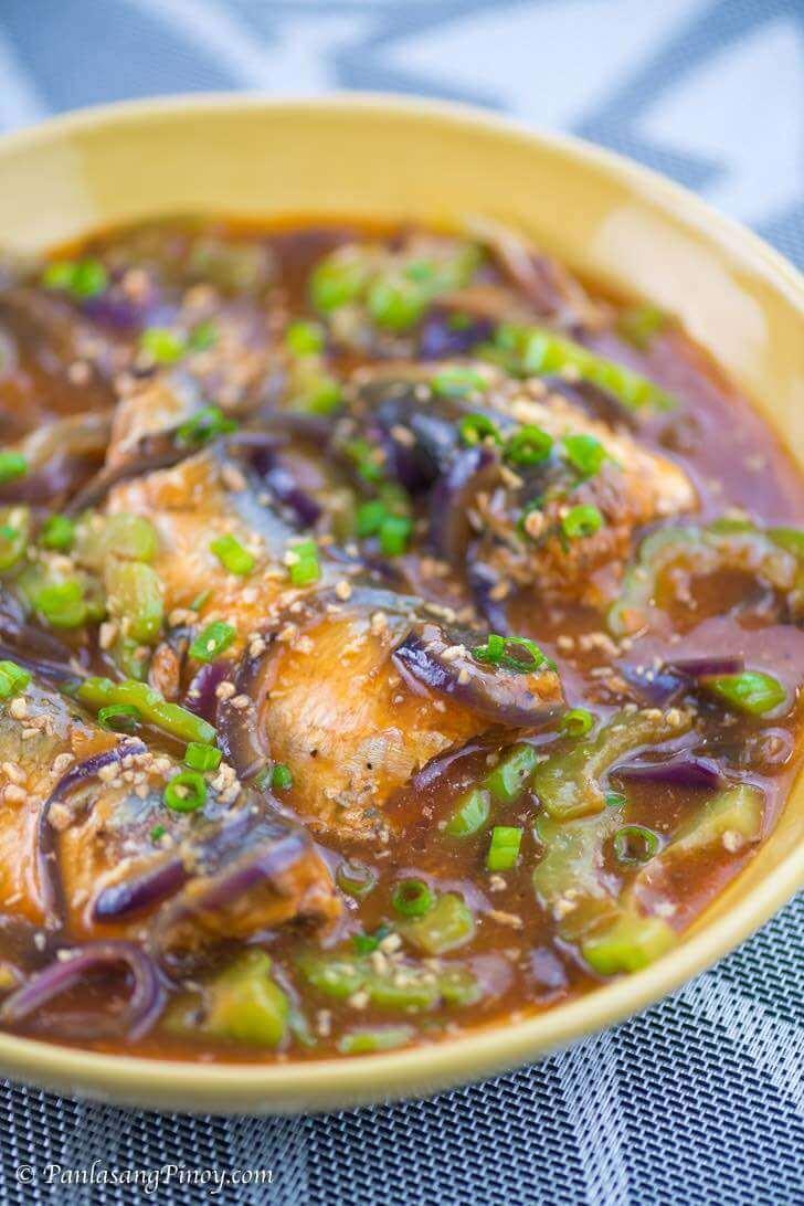 Ginisang Sardinas with Ampalaya Recipe