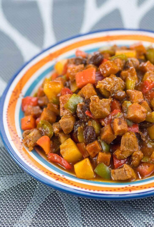 Panlasang Pinoy Menudo with Ham Recipe