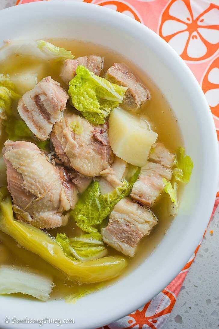 Pesang Baboy at Manok Recipe