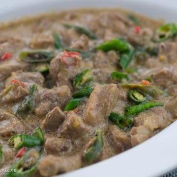 Pork Bicol Express Recipe
