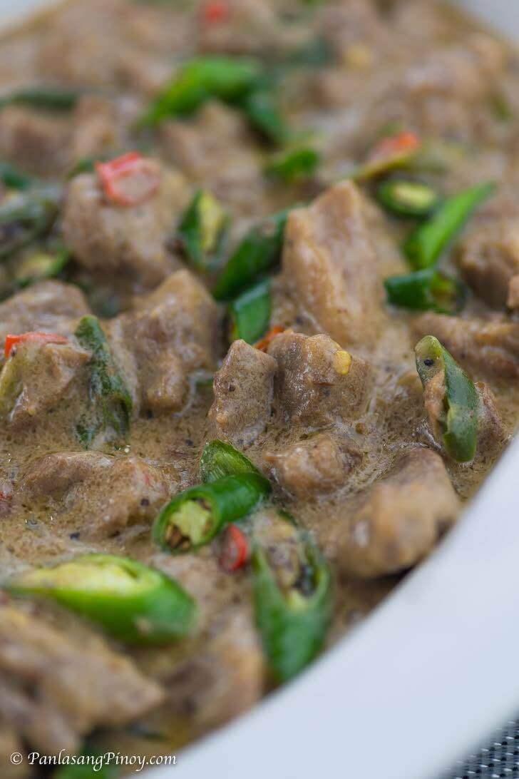 Pork Bicol Express Recipe Panlasang Pinoy