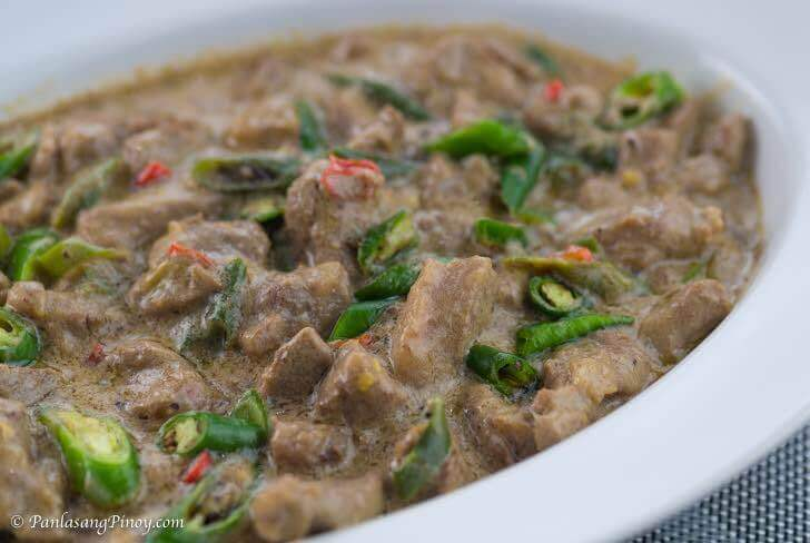 Pork Bicol Express Recipe