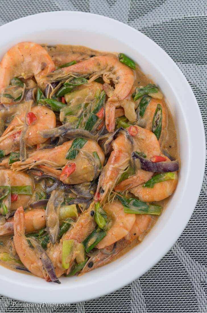 Spicy Ginataang Hipon Recipe