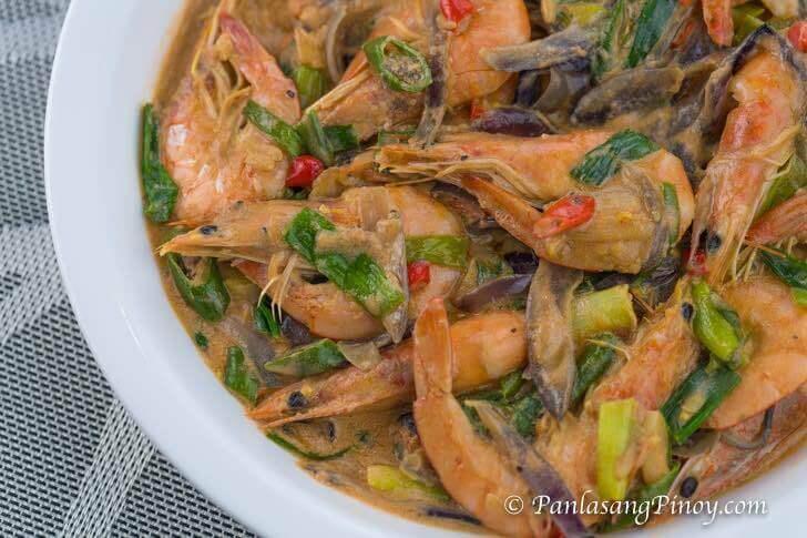 Spicy Ginataang Hipon