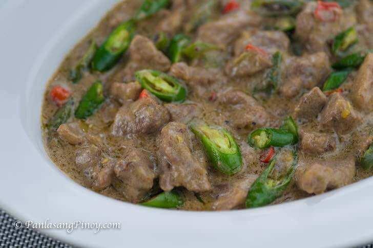 Spicy Pork Bicol Express Recipe Panlasang Pinoy
