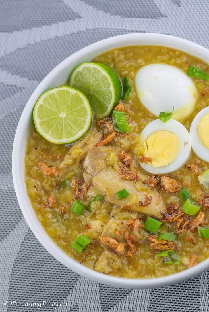 Chicken Arroz Caldo Recipe Panlasang Pinoy