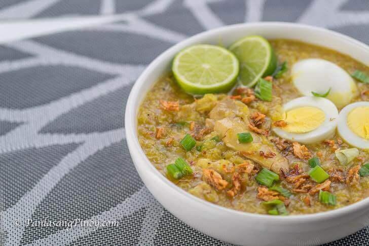 Panlasang Pinoy Chicken Arroz Caldo Recipe