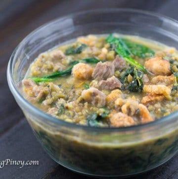 Pork Monggo Recipe Panlasang Pinoy