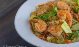 Shrimp Pancit Bihon