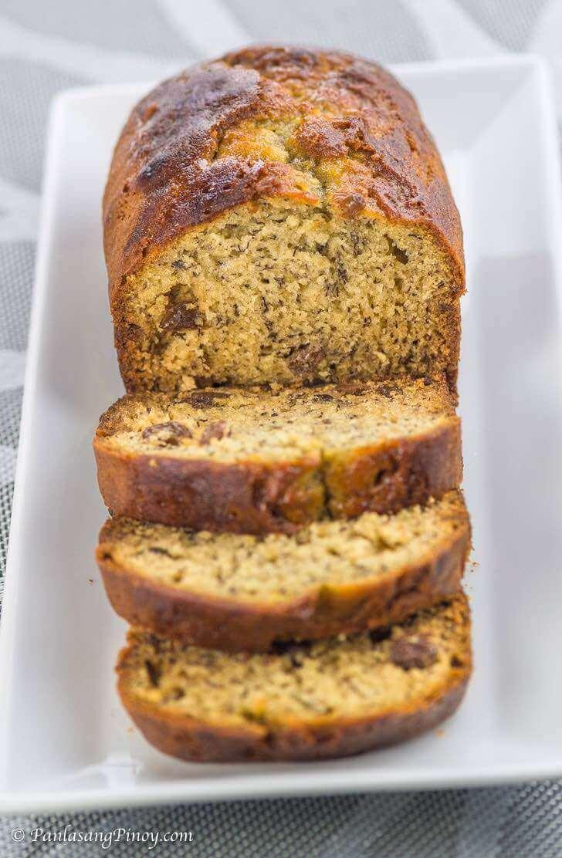 moist banana bread with raisins recipe