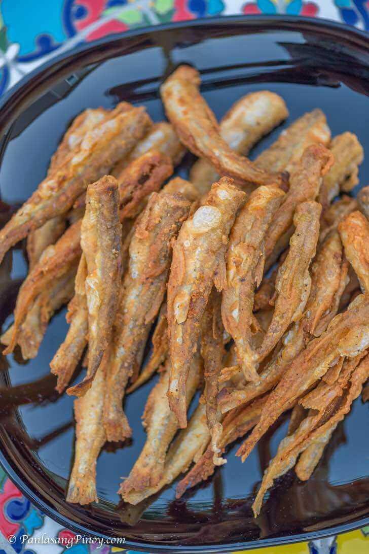 Crispy Fried Smelt Fish Panlasang Pinoy