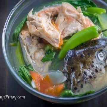 Sinigang na Salmon sa Miso Recipe
