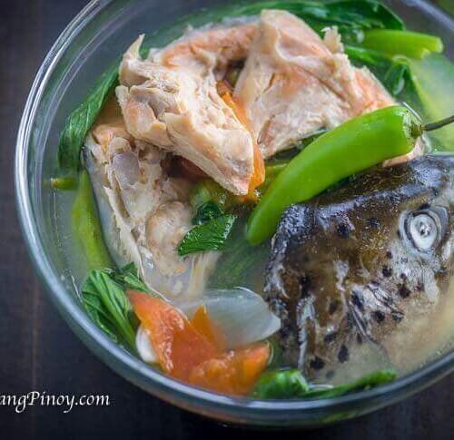 Sinigang Na Salmon Sa Miso Panlasang Pinoy
