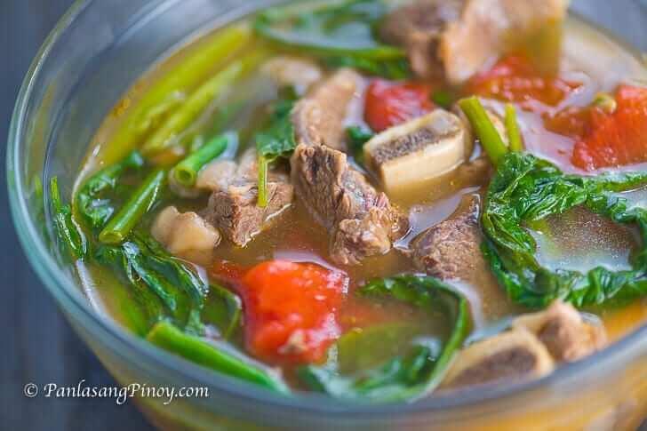 Panlasang Pinoy Beef Short Rib Sinigang na may Pakwan Recipe